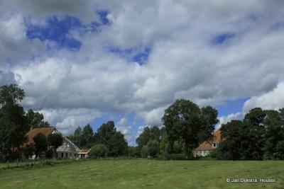 Boerderijen in Flânsum