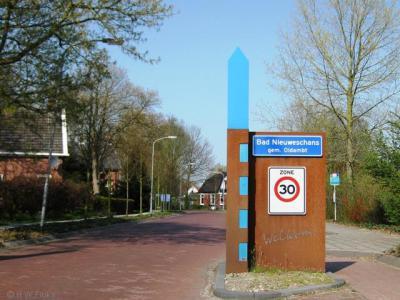 Nieuweschans heet sinds 2009 officieel Bad Nieuweschans
