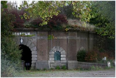 Fort Honswijk, gebouwd in de jaren 1841-1848. Officieel heet het: Fort Koning Willem II.