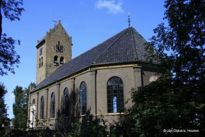 We staan bij de kerk van Folsgare