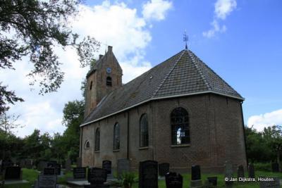 Foudgum, de Mariakerk, met zadeldaktoren
