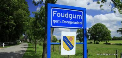 Foudgum, met wapen