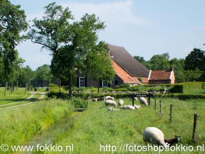 Foxwolde, boerderij Tichelwerk verwijst naar de kleiwinning die hier vroeger heeft plaatsgevonden