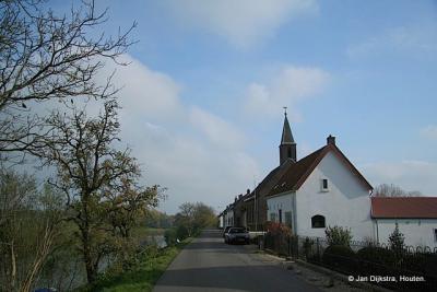 De Hervormde kerk aan de Lingedijk in Gellicum