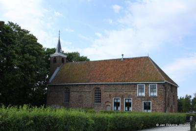 De Hervormde kerk van Gerkesklooster.
