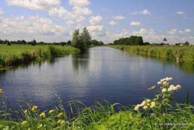 Groene Hart, buurtschap Gieltjesdorp bij Breukelen