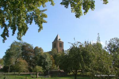 Nog even omkijken naar de kerk van Giessen-Oudekerk