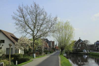 Gijbeland, een vrij rustig dorp met weinig verkeer