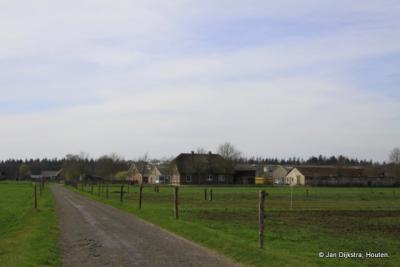 De buurtschap Ginkel aan de Ginkelseweg