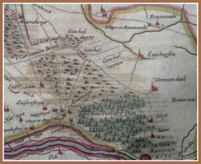 Ginkel, het gebied Ginckel in de 16e en 17e eeuw