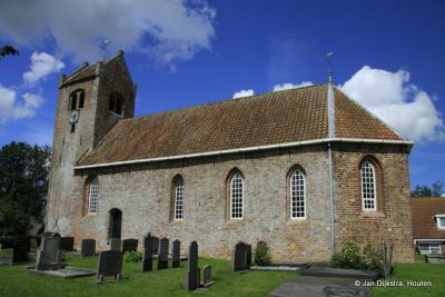 Het kerkje van Ginnum is nu atelier en museum