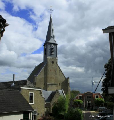 De Nederlands Hervormde kerk in Gouderak