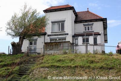 Gouwsluis, het voormalige stationsgebouw van station Gouwsluis is tegenwoordig in gebruik als woonhuis