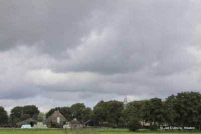 Gytsjerk, gezien vanuit de buurtschap Gytsjerksterhoeke