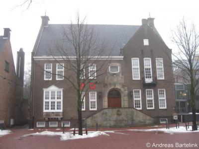 Haaksbergen, voormalig gemeentehuis aan de Markt