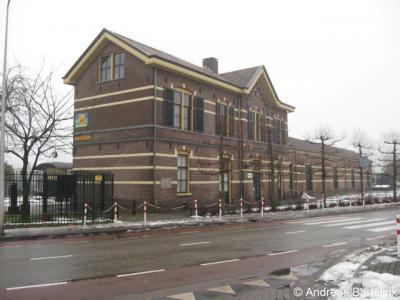Haaksbergen, station aan de Stationsstraat