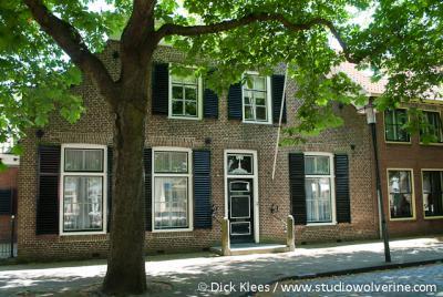 Burgh-Haamstede, monumentaal woonhuis in dorpsdeel Haamstede
