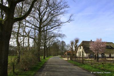 De Haarweg, ook nog buurtschap Ginkel, en ook daar nog bewoners die Van Ginkel heten