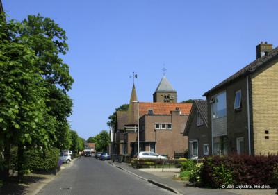 Dorpsstraat Hagestein in 2013