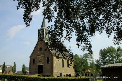Het mooie, kleine kerkje van Haskerhorne