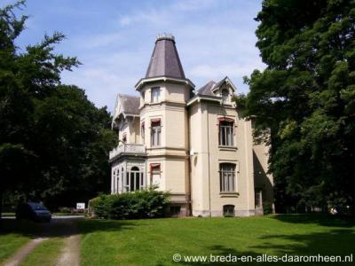 Halsteren, villa op Landgoed De Beek
