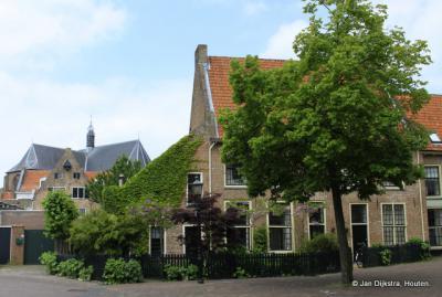 Het Klooster achter de Catharinakerk in Harderwijk.
