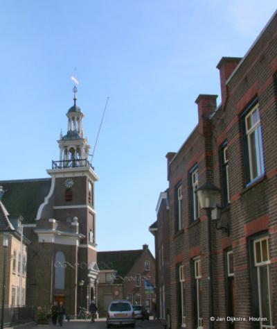 De Hervormde kerk in Hardinxveld-Giessendam.