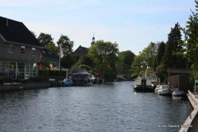 Hardinxveld-Giessendam aan het mooie riviertje de Giessen.