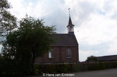 Haule, de huidige Hervormde kerk uit 1854.