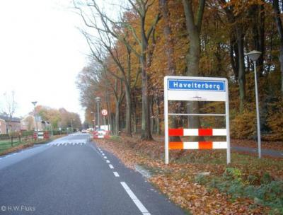 Havelterberg, de bebouwde kom van deze buurtschap valt sinds 1998 onder de gemeente Westerveld
