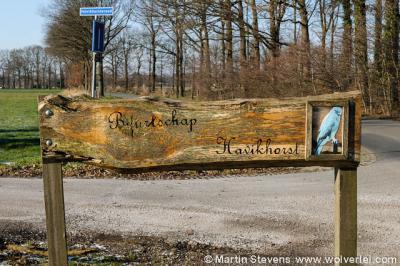 Als je als buurtschap van de gemeente geen plaatsnaamborden krijgt, maak je die toch gewoon lekker zelf? In Havikhorst hebben ze een zeer fraai exemplaar gemaakt.