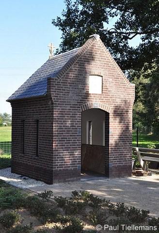 Heierhoeve, de in 2013 gereed gekomen nieuwe kapel Onze Lieve Vrouw van Fátima.
