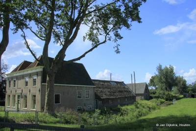 Hekendorp, de recentelijk prachtig gerestaureerde boerderij waar prinses Wilhelmina gevangen werd gehouden