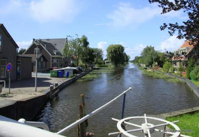 """De Enkele Wiericke """"stroomt """" bij Hekendorp in de Hollandse IJssel."""