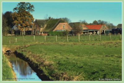 Boerderij van Bassa in Helsdingen bij Vianen