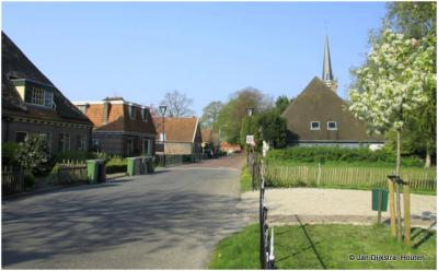 In Hem aangekomen, West-Friesland.