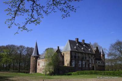 Kasteel Hernen in het gelijknamige dorp
