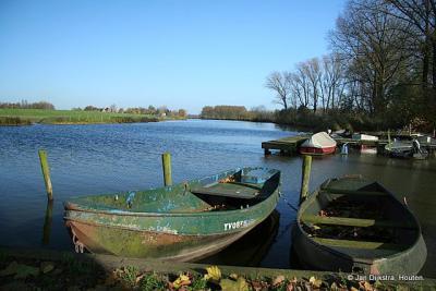 Het haventje van Heukelum.