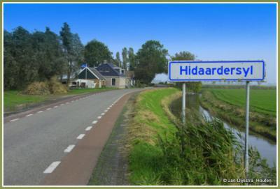 Even voor Hidaard hebben we nog de buurtschap Hidaardersyl