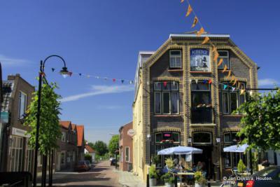 Het monumentale café Molenhoek in Hoek