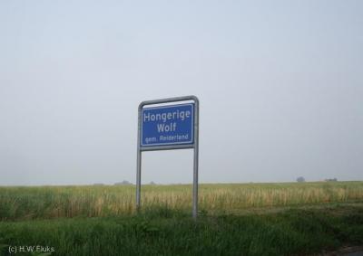 Hongerige Wolf is een buurtschap met een eigen bebouwde kom, maar valt voor de postadressen onder het dorp Finsterwolde.