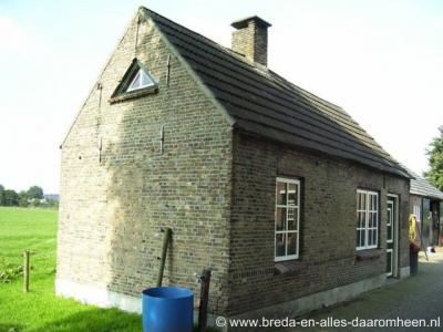 Hooge Aard, voormalig bakhuisje aan de Bavelseweg 170