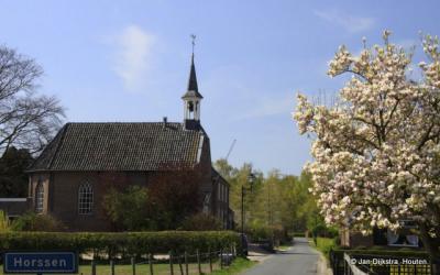 De Hervormde kerk in Horssen.