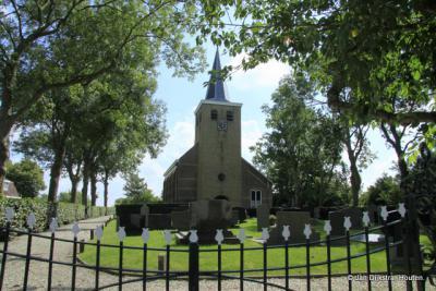 De Hervormde kerk in Hitzum