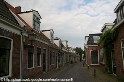 De oude dorpskern van Huizum wordt nog altijd beschouwd als 'dorp in de stad'