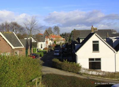 IJssellaan onderaan de IJsseldijk Noord.