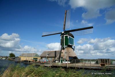Graafland, de Graaflandse Molen aan de Ammerse Boezem
