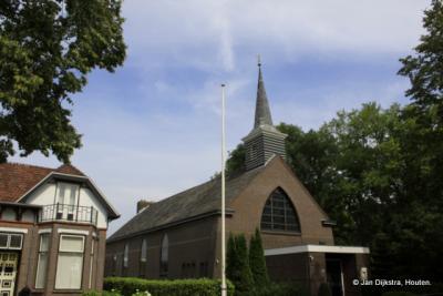 Het eenvoudige kerkje van Idskenhuizen