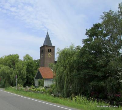 Bij de kerk van Noordeinde