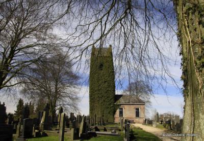 De 14e-eeuwse kerktoren van buurtschap It Heechsân